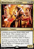 Commander 2017: Blood Baron of Vizkopa