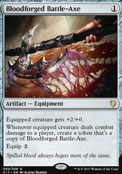 Commander 2017: Bloodforged Battle-Axe