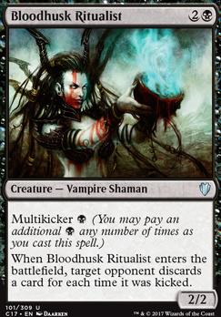 Commander 2017: Bloodhusk Ritualist