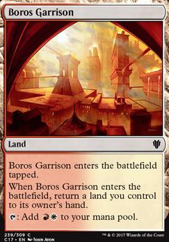 Commander 2017: Boros Garrison