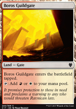Commander 2017: Boros Guildgate