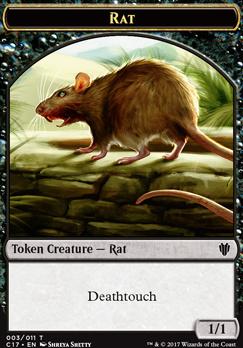 Commander 2017: Cat Token - Rat Token