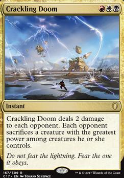 Commander 2017: Crackling Doom