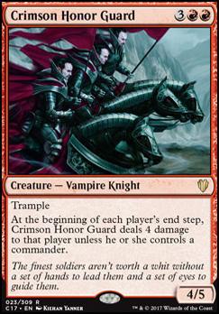 Commander 2017: Crimson Honor Guard