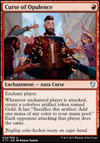 Commander 2017: Curse of Opulence