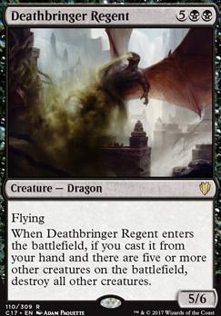 Commander 2017: Deathbringer Regent