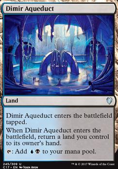 Commander 2017: Dimir Aqueduct