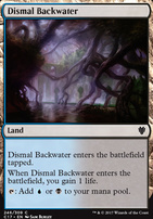 Commander 2017: Dismal Backwater