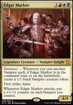 Commander 2017: Edgar Markov (Foil)