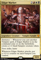 Commander 2017: Edgar Markov (Oversized Foil)