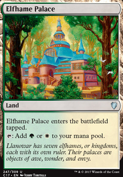 Commander 2017: Elfhame Palace