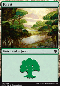 Commander 2017: Forest (307 A)