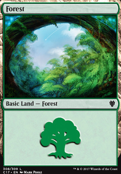 Commander 2017: Forest (308 B)