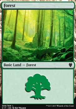Commander 2017: Forest (309 C)