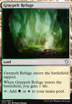 Commander 2017: Graypelt Refuge