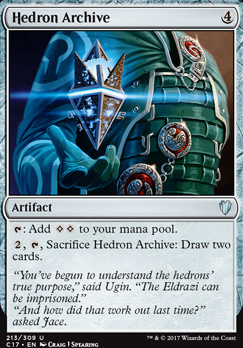 Commander 2017: Hedron Archive