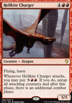 Commander 2017: Hellkite Charger