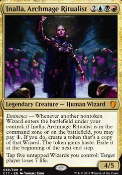 Commander 2017: Inalla, Archmage Ritualist (Foil)
