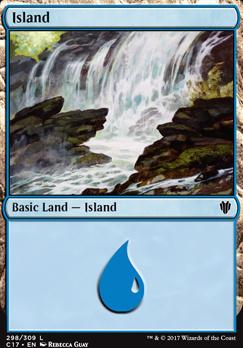 Commander 2017: Island (298 A)