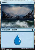 Commander 2017: Island (299 B)