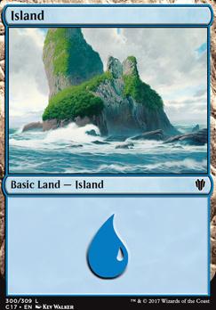 Commander 2017: Island (300 C)