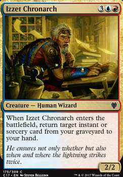 Commander 2017: Izzet Chronarch