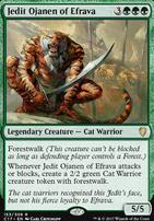 Commander 2017: Jedit, Ojanen of Efrava