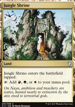Commander 2017: Jungle Shrine