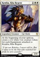 Commander 2017: Kemba, Kha Regent