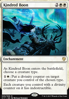 Commander 2017: Kindred Boon