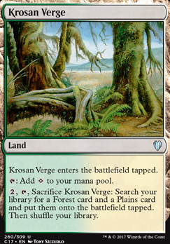 Commander 2017: Krosan Verge