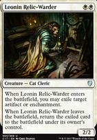 Commander 2017: Leonin Relic-Warder