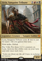 Commander 2017: Licia, Sanguine Tribune (Foil)