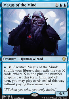 Commander 2017: Magus of the Mind