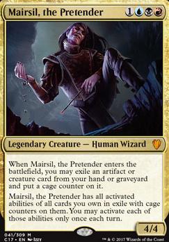 Commander 2017: Mairsil, the Pretender (Foil)