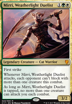 Commander 2017: Mirri, Weatherlight Duelist (Foil)