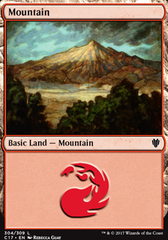Commander 2017: Mountain (304 A)