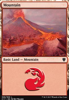 Commander 2017: Mountain (306 C)