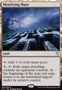 Commander 2017: Mystifying Maze