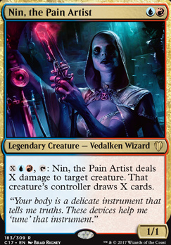 Commander 2017: Nin, the Pain Artist