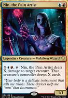 Commander 2017: Nin, the Pain Artist
