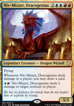 Commander 2017: Niv-Mizzet, Dracogenius