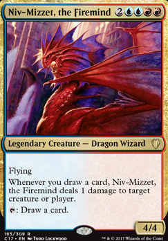 Commander 2017: Niv-Mizzet, the Firemind
