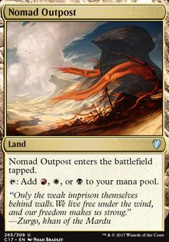 Commander 2017: Nomad Outpost