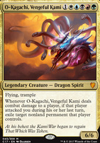 Commander 2017: O-Kagachi, Vengeful Kami (Foil)