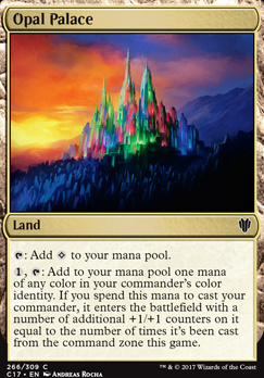 Commander 2017: Opal Palace