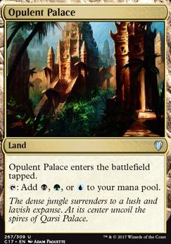 Commander 2017: Opulent Palace