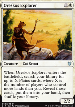 Commander 2017: Oreskos Explorer