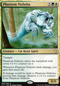 Commander 2017: Phantom Nishoba