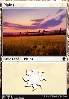 Commander 2017: Plains (296 B)